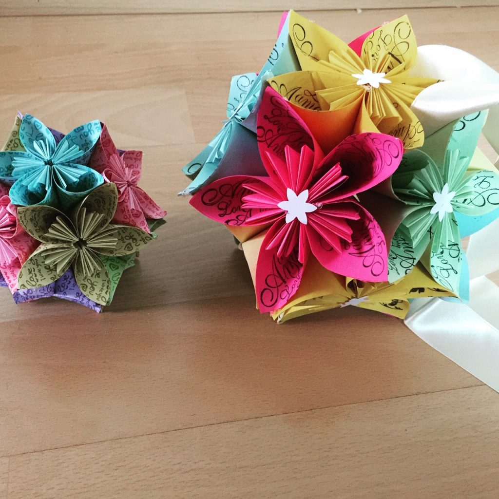 Boules de fleurs de kosudamas