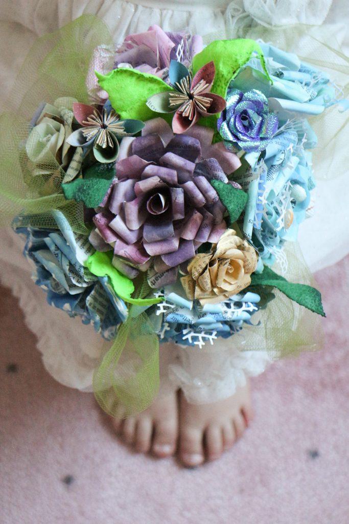 Bouquet de mariage thème mer