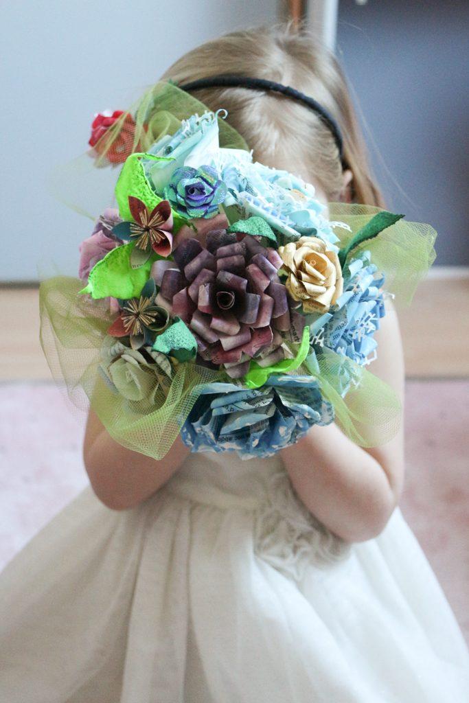 Bouquet mariage thème mer marine